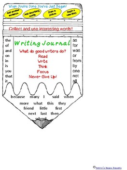 Writing - Journal Cover