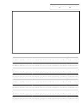 Writing Journal Template