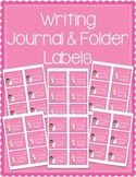 Writing Journal & Writing Folder Labels
