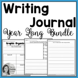 Writing Journal - Year Long Bundle