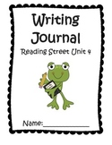 Writing Journal aligned with Reading Street Unit 4 Grade 1