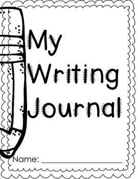 Writing Journal for August