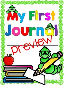 Writing Journal for Beginning Writers