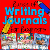 Writing Journal for Beginning Writers Bundle