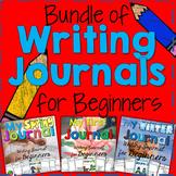 Writing Journal for Beginning Writers Bundle