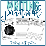 Writing Journal for Distance Learning