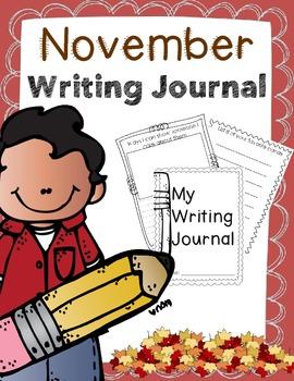 Writing Journal for November