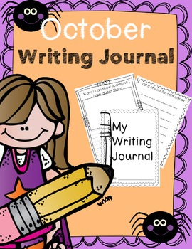 Writing Journal for October