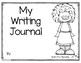Writing Journal for Reach for Reading - Kindergarten (Unit 2)