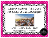 Writing Journal for Reach for Reading - Kindergarten (Unit 6)
