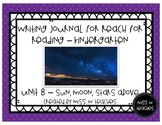Writing Journal for Reach for Reading - Kindergarten (Unit 8)