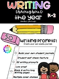 Writing Journal for the Year with 50 weekly prompts - buil