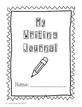 Writing Journal with 52 Days of Writing Prompts