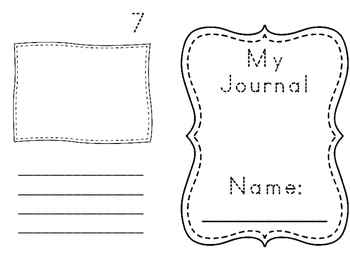 Writing Journal with Box