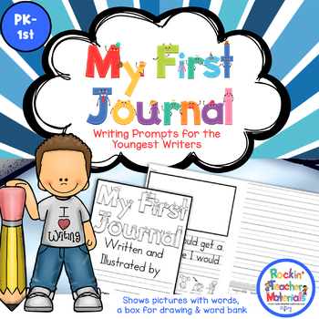 *Writing Journal with Prompts and Pictures for Our Youngest Writers