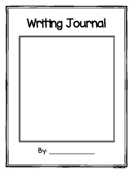 Writing Journal with writing response prompts, writing checklist and rubric