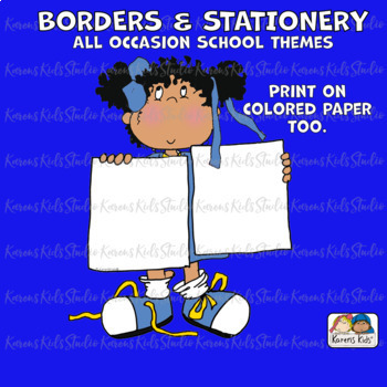 Borders BORDER PAPERS All Occasion Clip Art