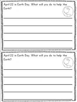 Writing Journals {April}