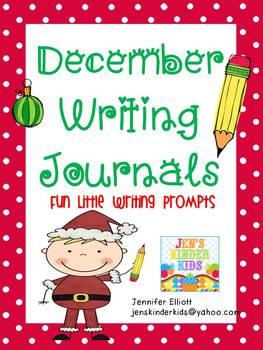 Writing Journals {December}