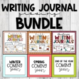 Writing Journals Growing Bundle