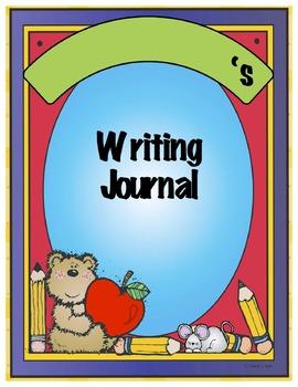 Writing Journals (Monthly) Kindergarten