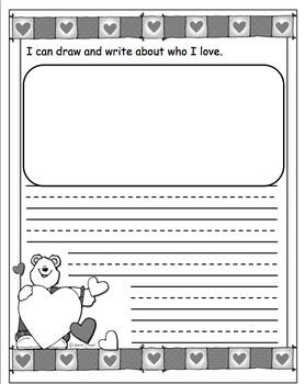 Writing Journals (Monthly) Kindergarten {Part 2}