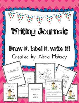 Writing Journals  (Draw it, Label it, Write it)