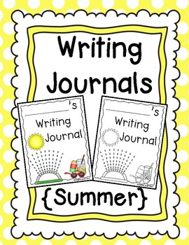 Writing Journals {Summer}