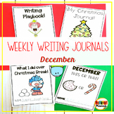 Writing Prompt Journals | Writing Paper for December | Wri