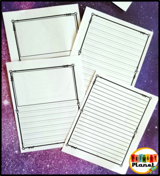 Writing Journal | Writing Paper for January| Winter Writing Activities