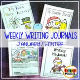 Writing Journal | Writing Paper for January| Winter Writin
