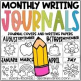 Writing Journals for Kindergarten - NO PREP Printables