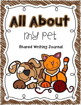 Writing Journals {for Shared Writing}