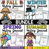 Writing Journals for the ENTIRE Year (K-2) NO PREP BUNDLE {Distance Learning}