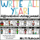 Differentiated Writing Journals for the Whole Year!