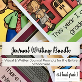Writing Journals with Visual and Written Prompts: The Complete Bundle