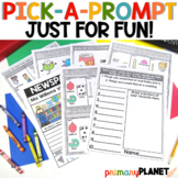 Pick a Prompt! Writing Prompts with Pictures | FOR FUN Picture Writing Prompts