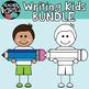 Writing Kids * Pencil Clipart BUNDLE * Seller's KIT