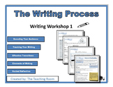 Writing Workshop 1 - The Writing Process Middle School & H