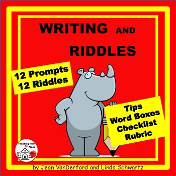 Writing and Riddles | Early Finishers |FUN  Writing Prompt