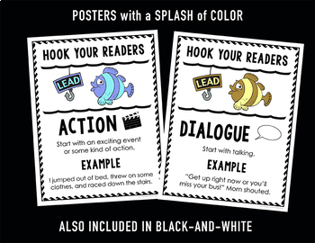 Writing Leads Posters