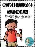 Writing Leads: Hook Those Readers In!