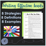 Writing Leads: How to Hook Your Reader