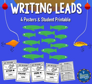 Writing Leads Anchor Charts