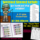 Writing Leads PowerPoint