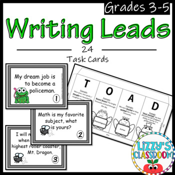 Writing Leads- Practice Transforming Leads