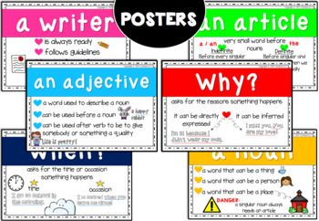 Writing Center Activities mini leaflets {CCSS Aligned}