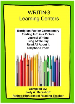 Writing Learning Centers