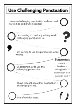 Writing Goal Pathways for Scaffolding, Sequencing and Goal Setting