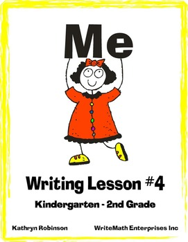 Writing Lesson 4: Writing All About Me! {Full Week of Writing Lessons}